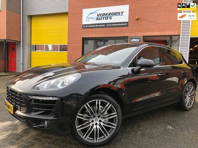 Porsche Macan 3.0 D S.full optie'.pano.360 camera.memory.21inch