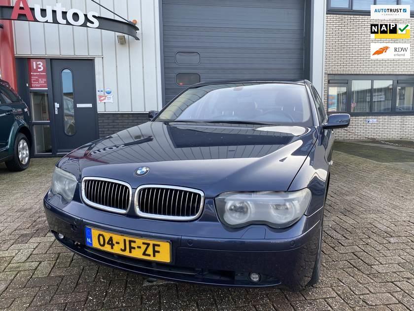 BMW 7-serie occasion - Brugman Auto's