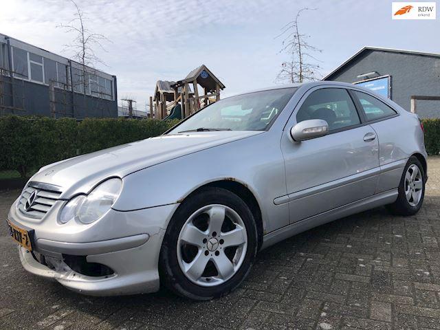 Mercedes-Benz C-klasse Sportcoupé 200 K. VELGEN/AIRCO/6-BAK