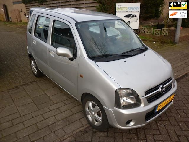 Opel Agila occasion - Autobedrijf in en verkoop auto's Evert van den Top