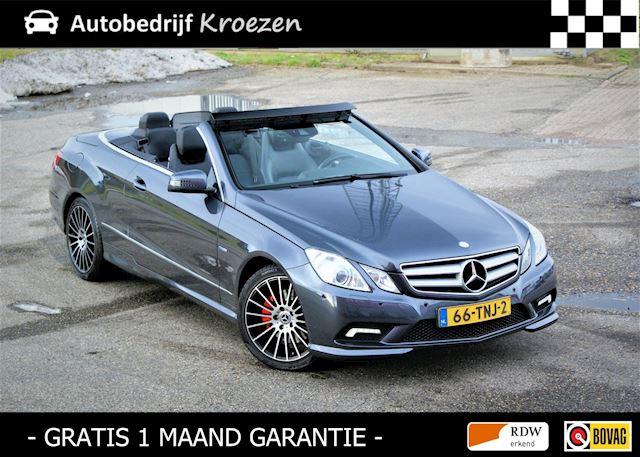 Mercedes-Benz E-klasse Cabrio 200 CGI Avantgarde ///AMG Pakket * Org NL Auto * Navigatie *