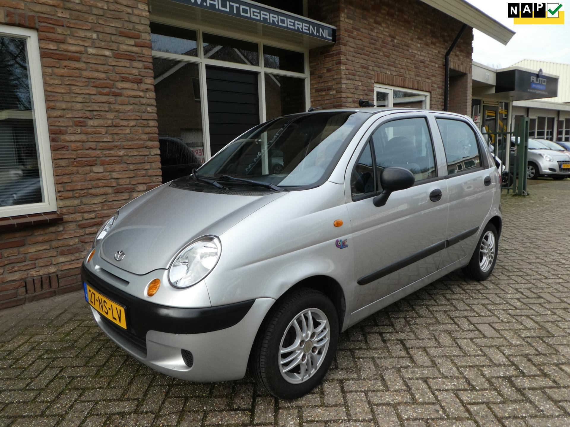 Daewoo Matiz occasion - Auto Garderen