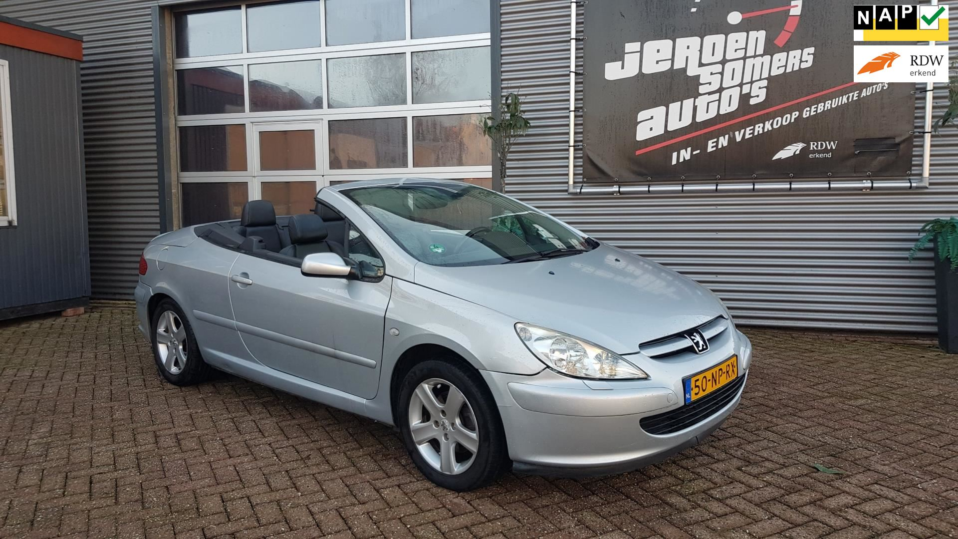 Peugeot 307 CC occasion - Jeroen Somers Auto´s