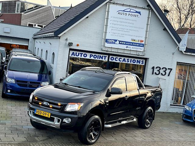 Ford Ranger 3.2 TDCi Wildtrak Super Cab 4X4 leder/concave wheels