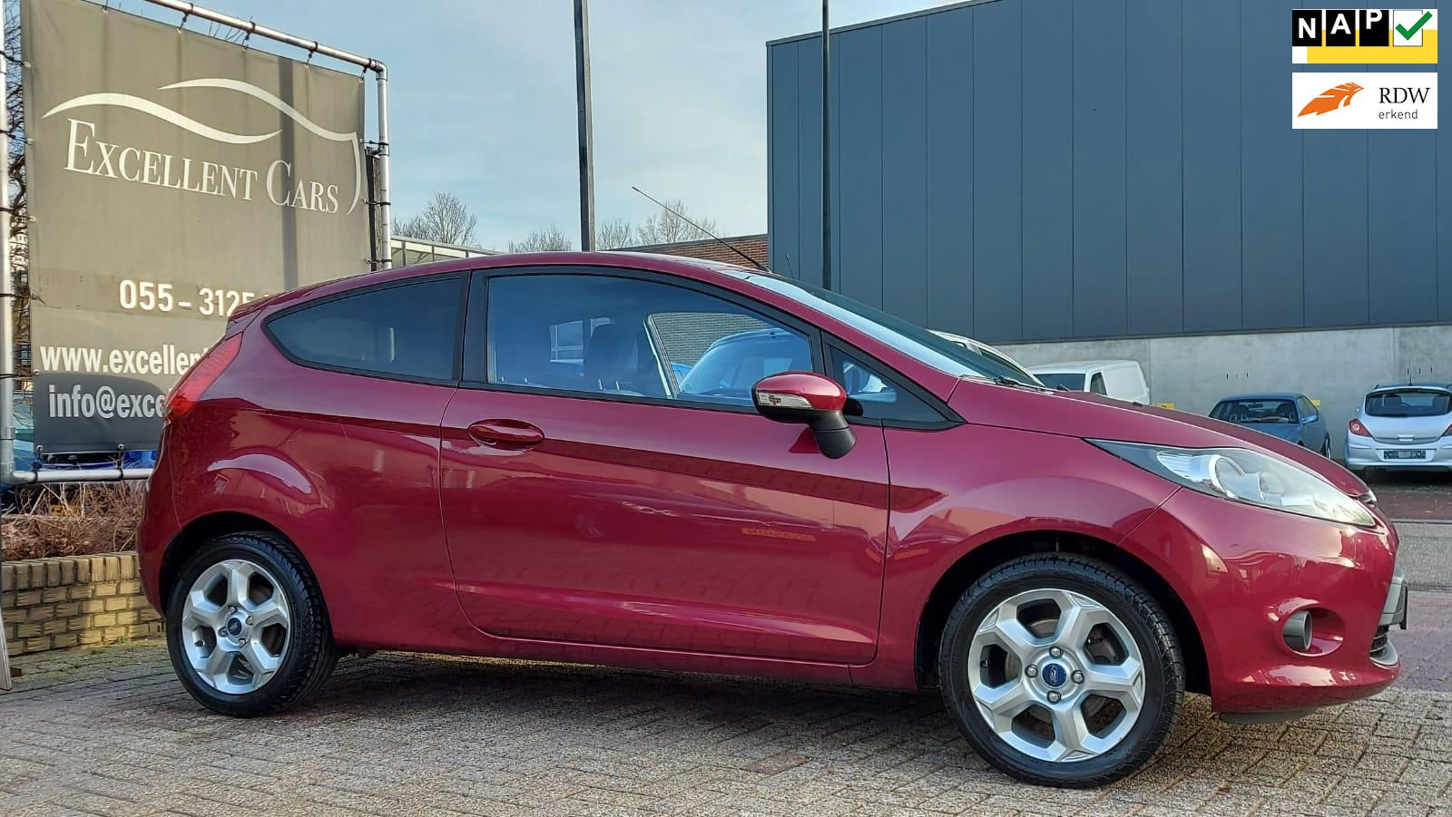 Ford Fiesta occasion - Excellent Cars