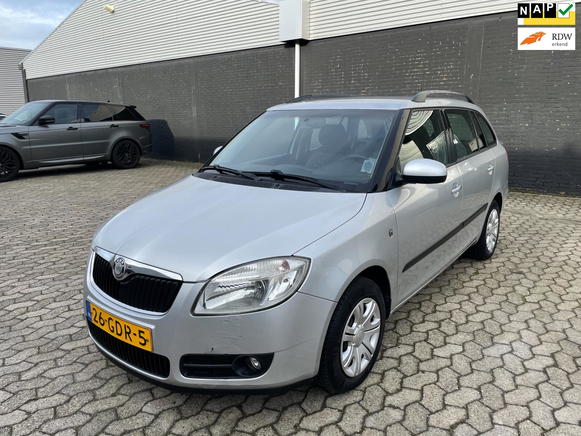 Skoda Fabia Combi occasion - City Cars Breda