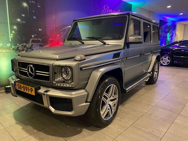Mercedes-Benz G-klasse 63 AMG. Designo. 52.000 km. BTW auto. Geen import. NL auto. Nieuwpr. 238.000 EU. INFO& FOTO'S VOLGT