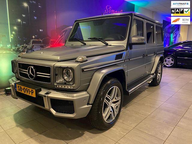 Mercedes-Benz G-klasse 63 AMG. Designo. Standkachel. 52.000 km. BTW auto. Geen import. NL auto. Nieuwpr. €238.000. TOPSTAAT! UNIEK