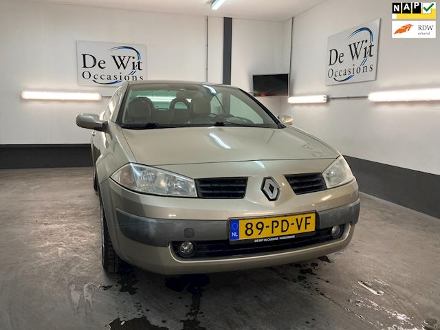 Renault Megane CC 2.0 16v PRIVILEGE  uitv. op LPG G3 incl. NWE APK/GARANTIE.