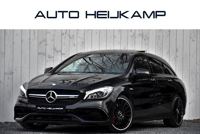 Mercedes-Benz CLA-klasse Shooting Brake 45 AMG 4MATIC | Pano-dak | Uitlaatsysteem | Camera