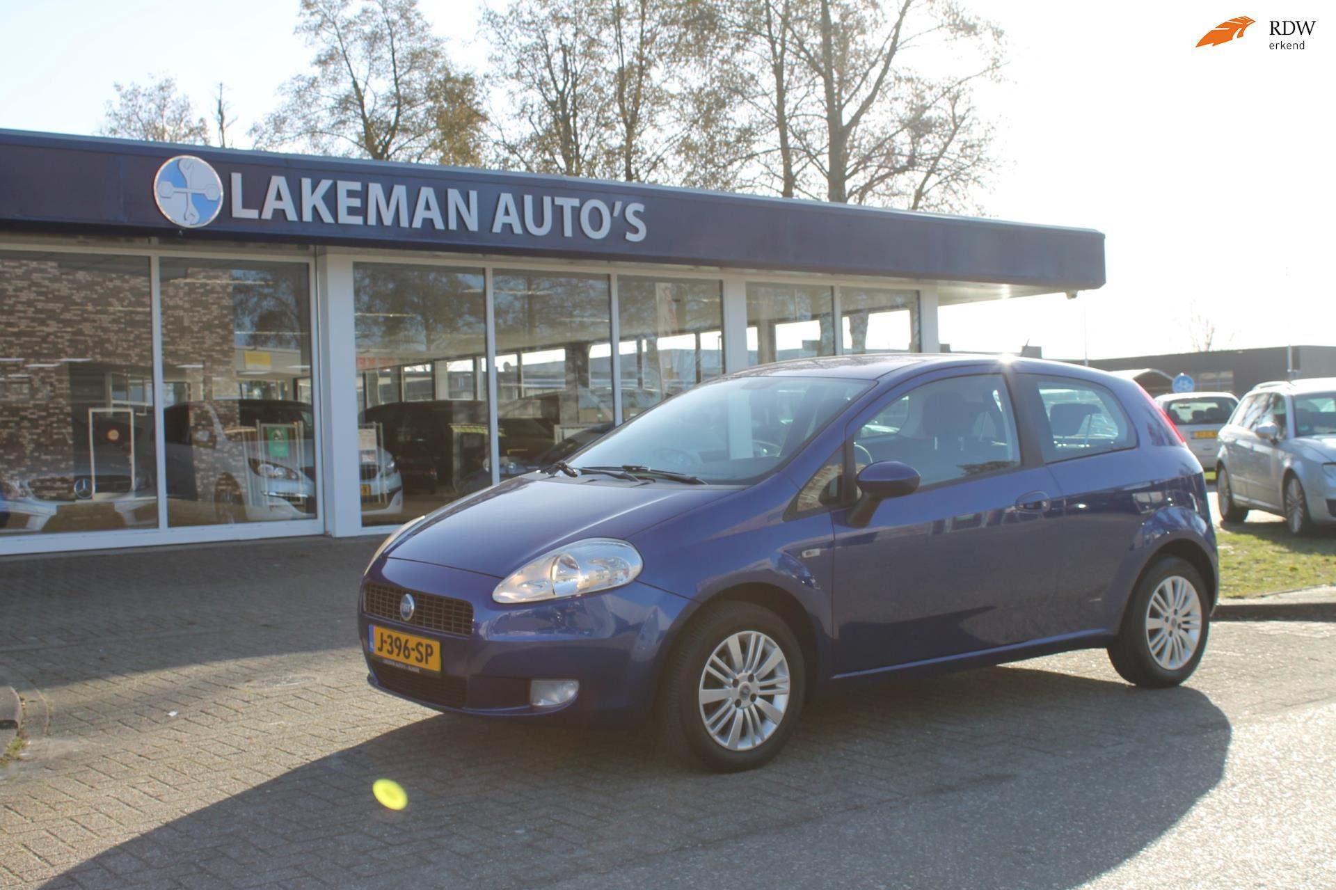 Fiat Grande Punto occasion - Lakeman auto's Almere B.V.