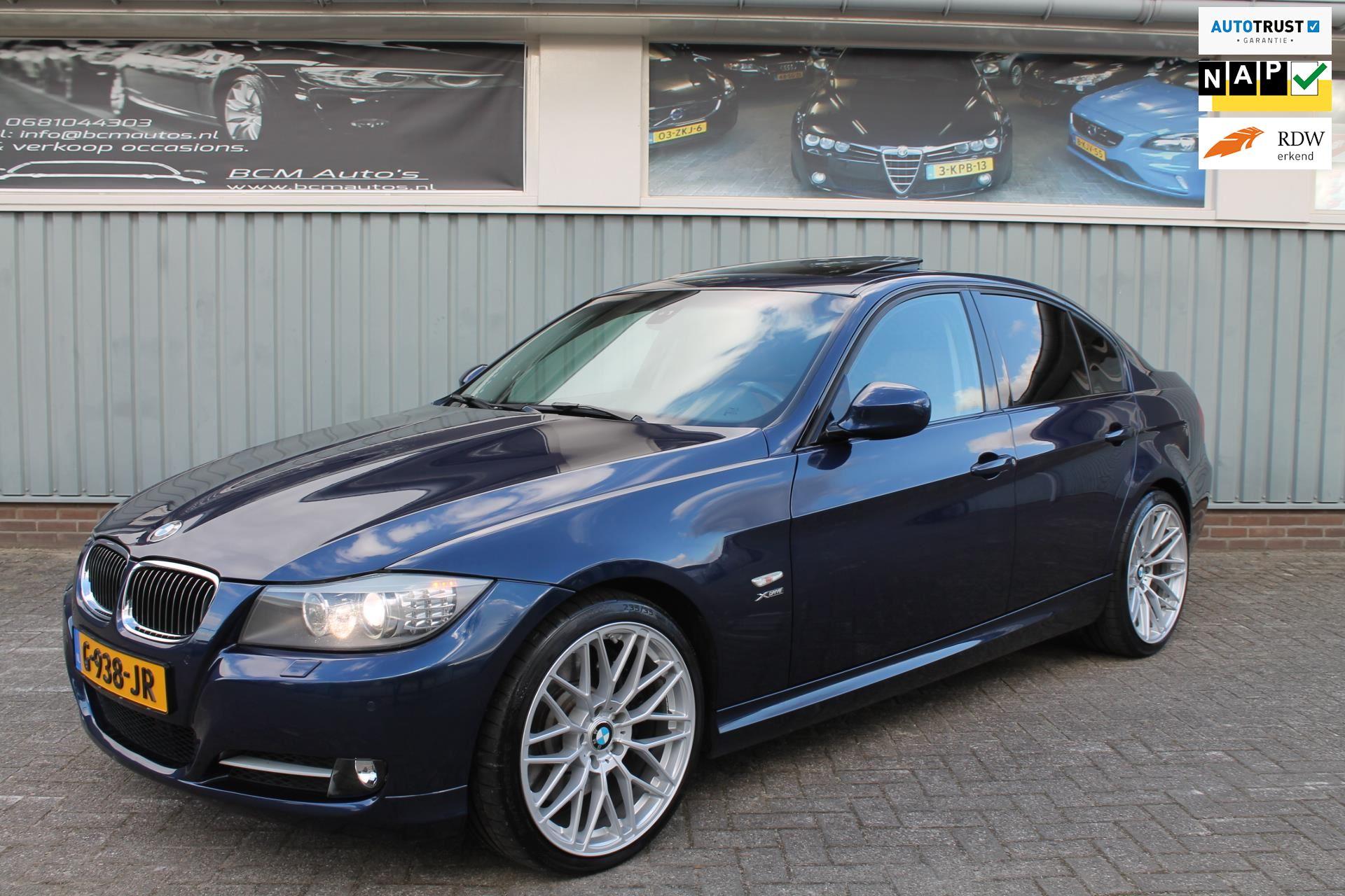 BMW 335Xi High Executive Automaat Leer Dakota bruin Glazen dak Navi 19 inch Volledige historie Harman Ka occasion - BCM Auto`s