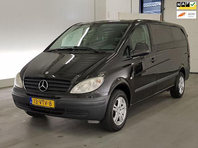 Mercedes-Benz Vito 115 CDI 320 Lang DC luxe AIRCO/Uniek mooie bus/ Zeer netjes/ Dealer onderhouden met sleutels compleet.
