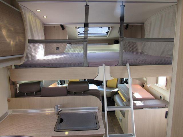 vkBurstner T728  FIFTY FIVE Enkele bedden +Hefbed 2xAirco 2014