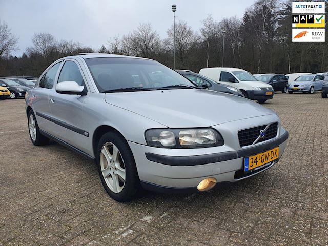 Volvo S60 2.3 T-5 DAK/airco/LEER 250pk UNIEK