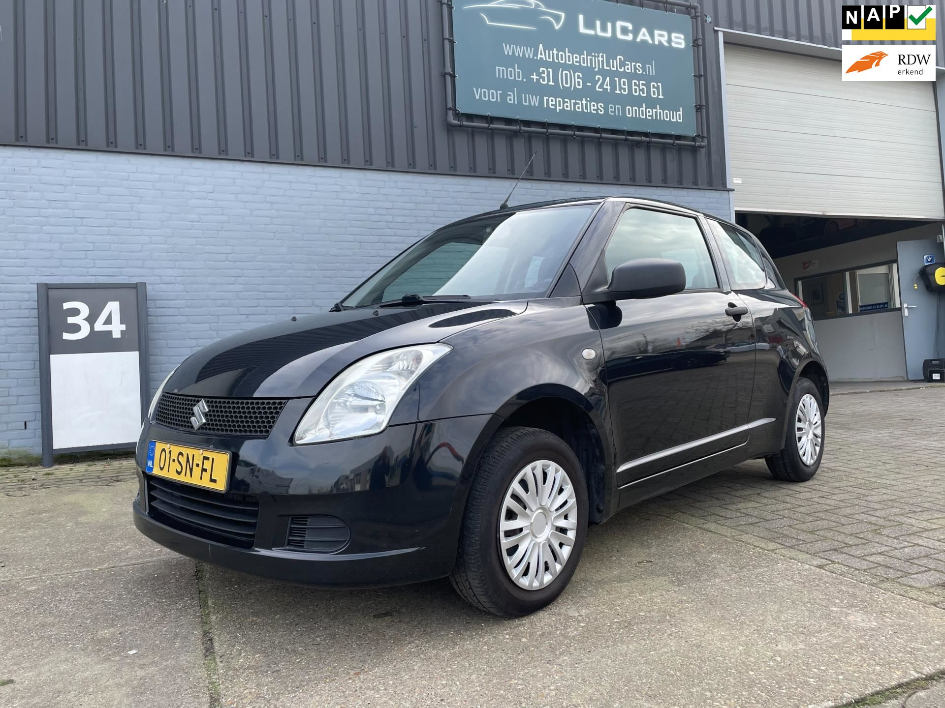 Suzuki Swift occasion - LuCars
