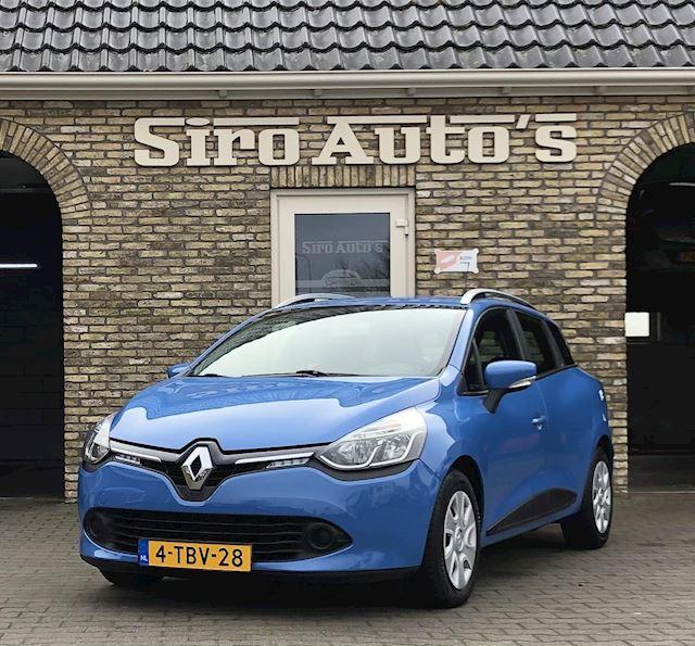 Renault Clio Estate 1.5 dCi Bj 2014 met slechts 78610 km