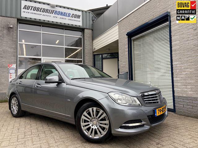 Mercedes-Benz C-klasse 180 Business Class 125! Elegance Facelift/NL.Auto/Comand Navi/Automaat/Clima/Cruise/Dealer Onderhouden