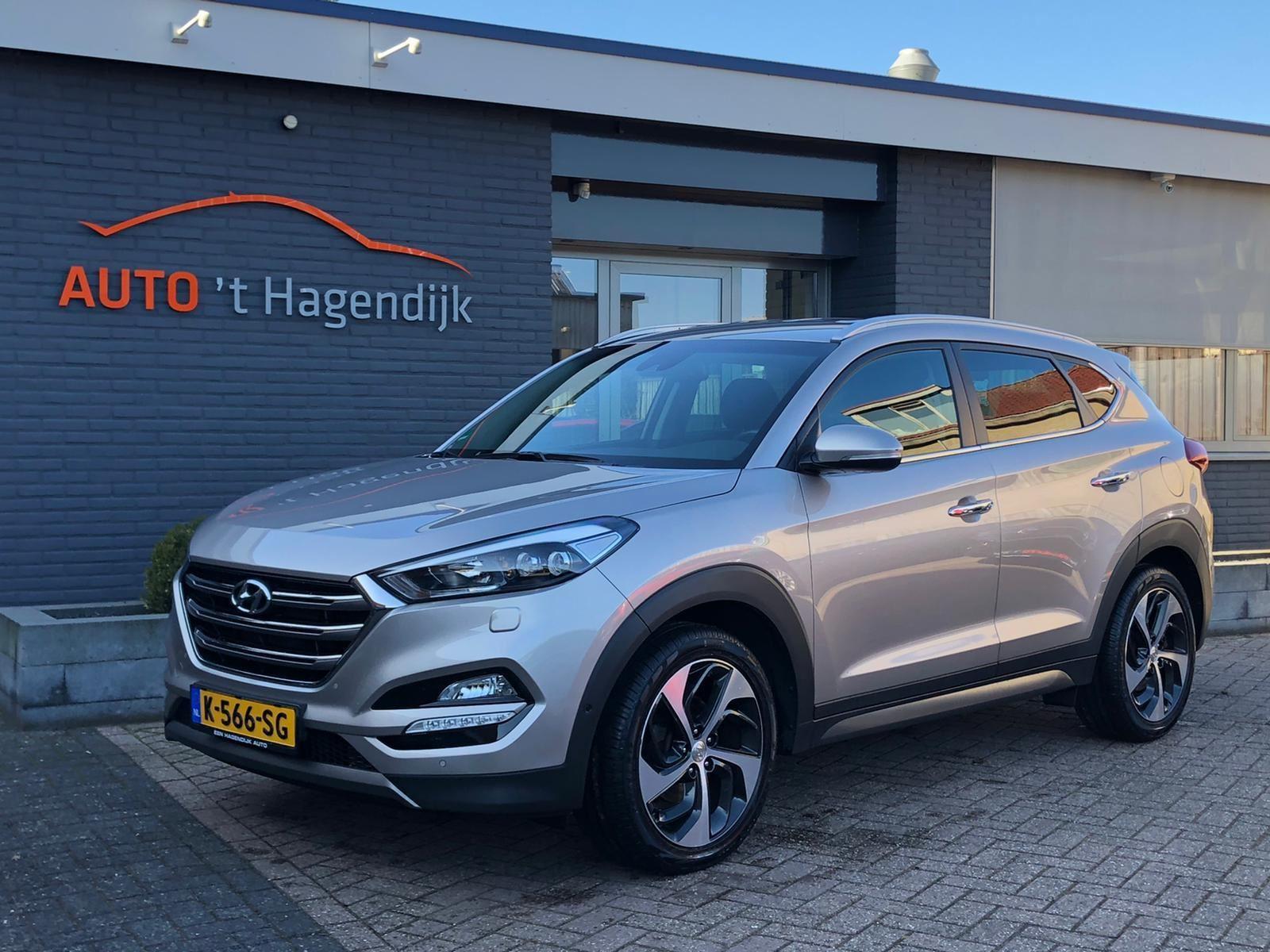 Hyundai Tucson occasion - Auto 't Hagendijk