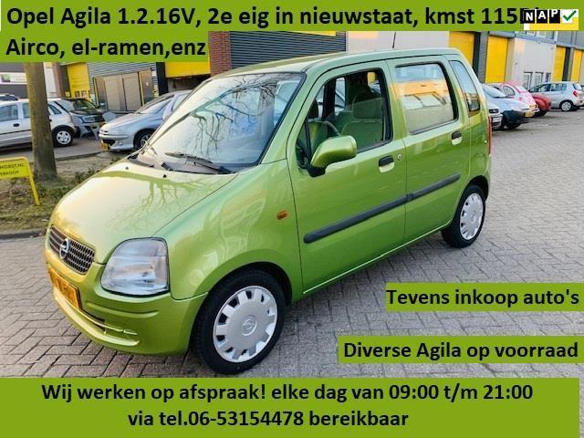 Opel Agila occasion - Auto Hilhorst