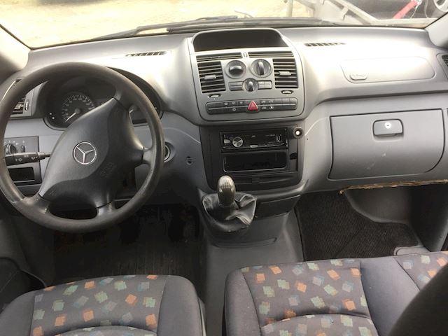 Mercedes-Benz Vito 111 CDI,L2H1,dubbele cabine EXPORT motor rookt Vieze lelijke auto