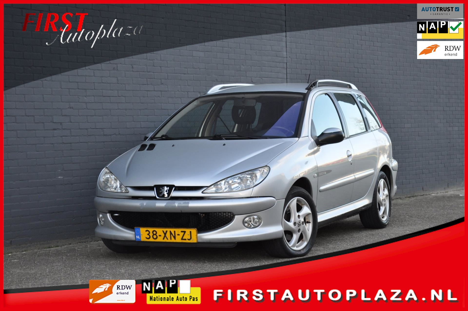 Peugeot 206 SW occasion - FIRST Autoplaza B.V.