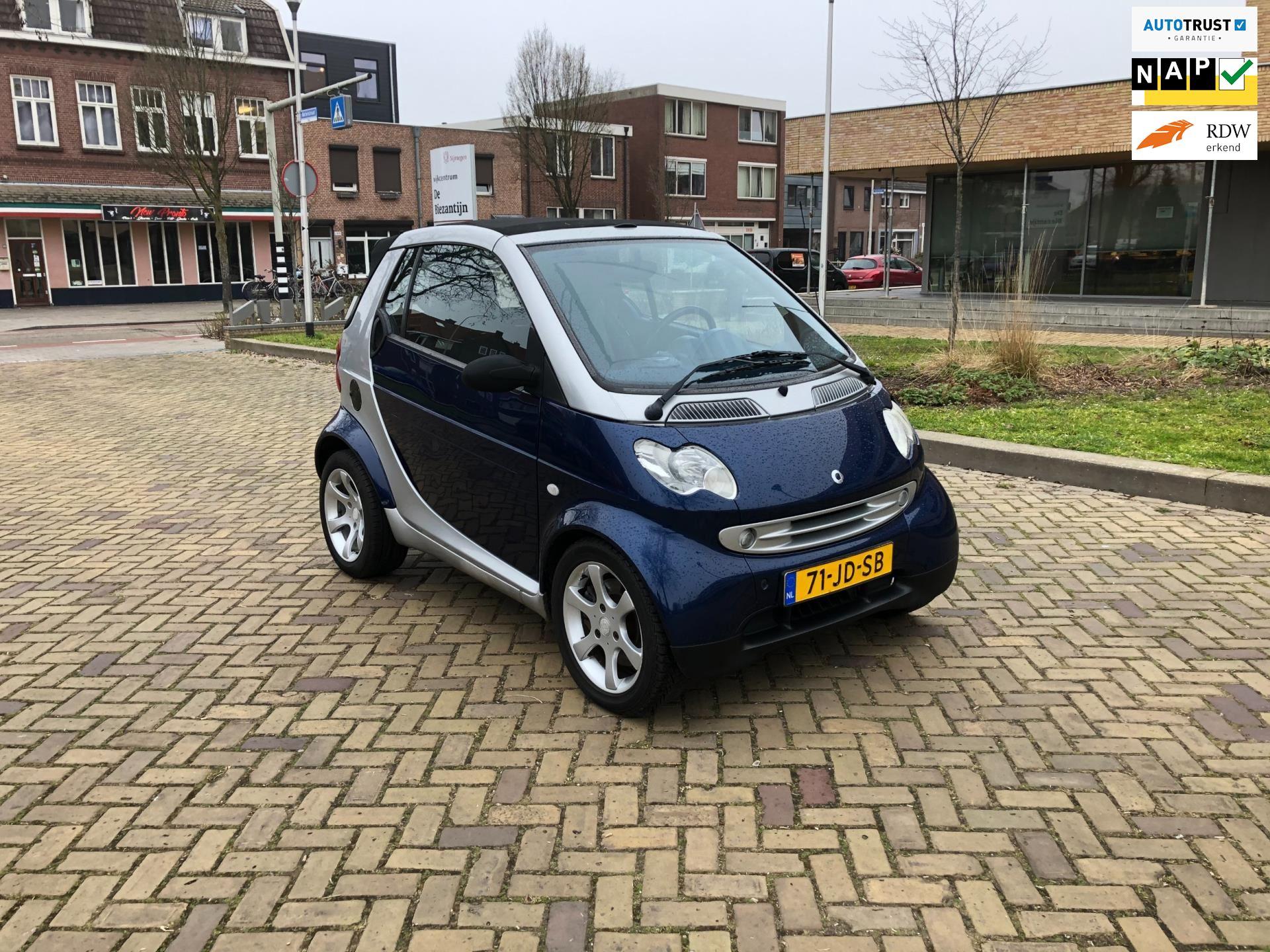 Smart Cabrio occasion - Dayi Autobedrijf