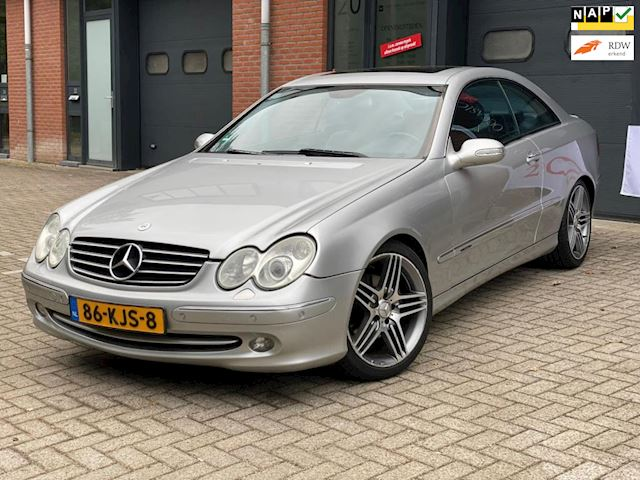 Mercedes-Benz CLK-klasse Coupé 320 Avantgarde/YOUNG TIMER/LUXE UITVOERING/GOED ONDERHOUDEN.