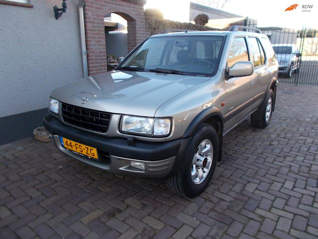 Opel Frontera 3.2 V6 Limited leer automaat trekh 2800 kg trekken