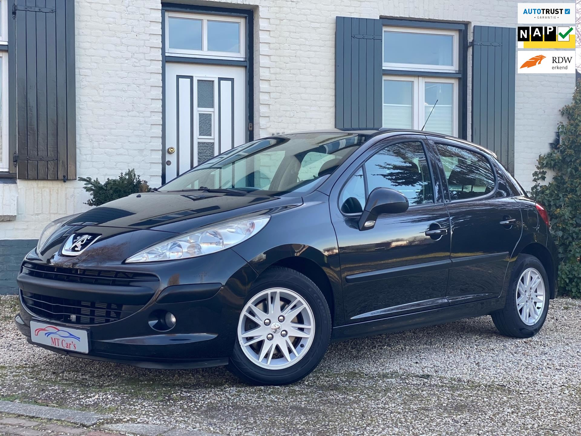 Peugeot 207 occasion - M.T.  Cars & Carcleaningcenter