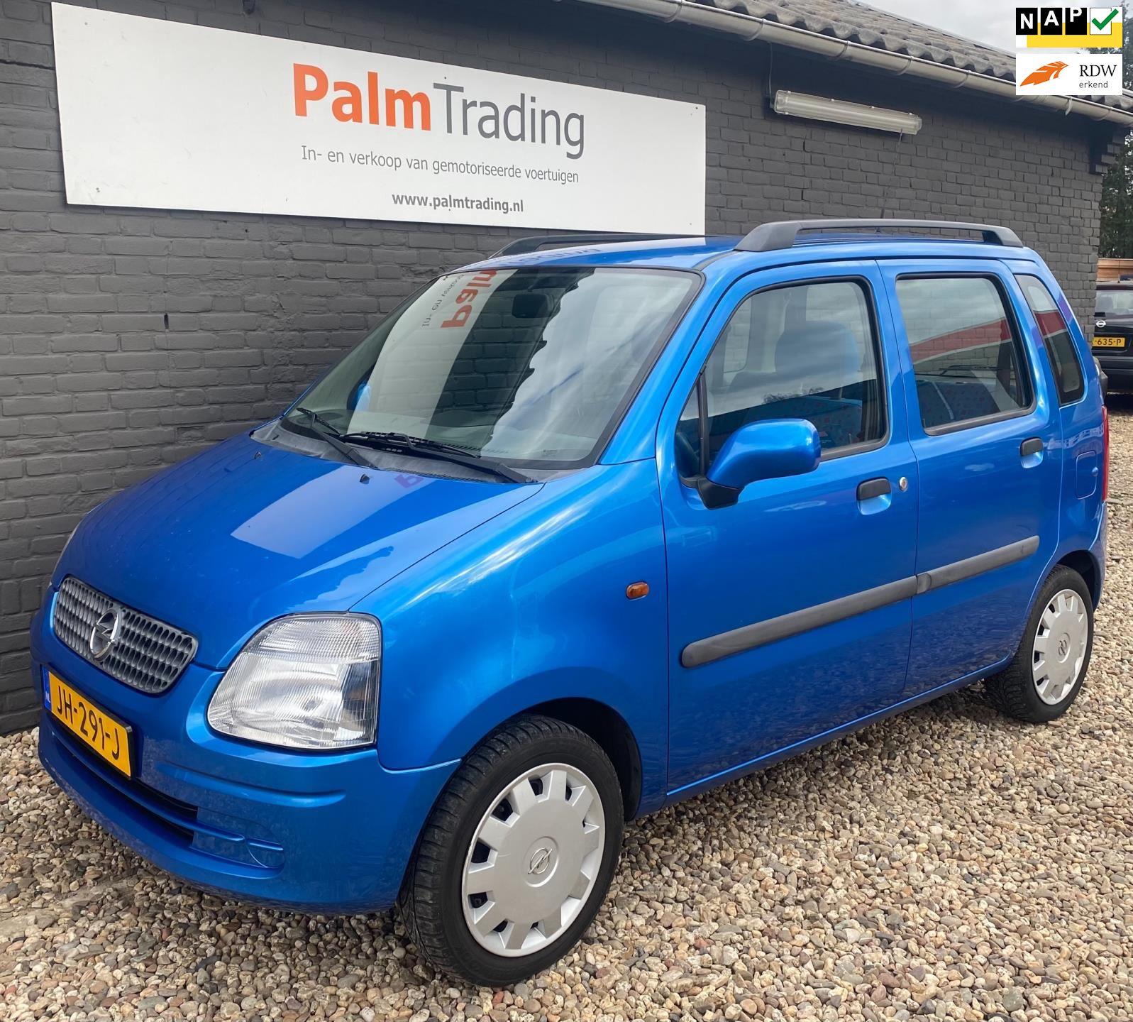 Opel Agila occasion - Palm Trading