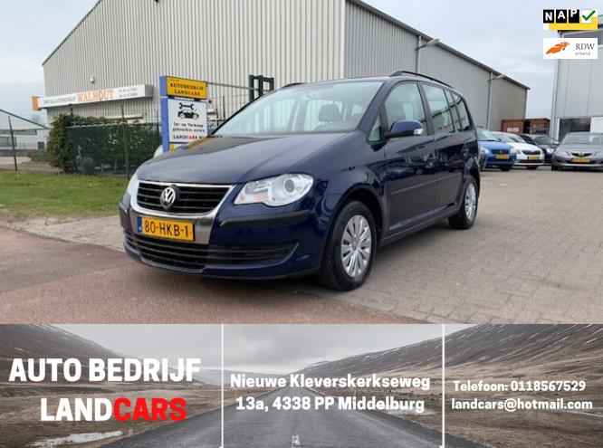 Volkswagen Touran occasion - Land Cars Middelburg
