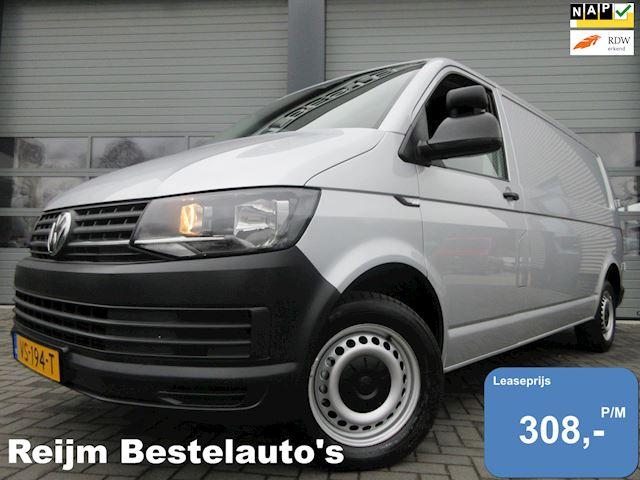 Volkswagen Transporter 2.0tdi L2 102pk met Navigatie,  PDC, Cruisecontrol,