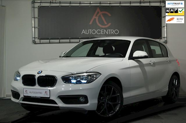 BMW 1-serie 118i BBS Edition / PDC / Cruise / LED / Stoelverw.