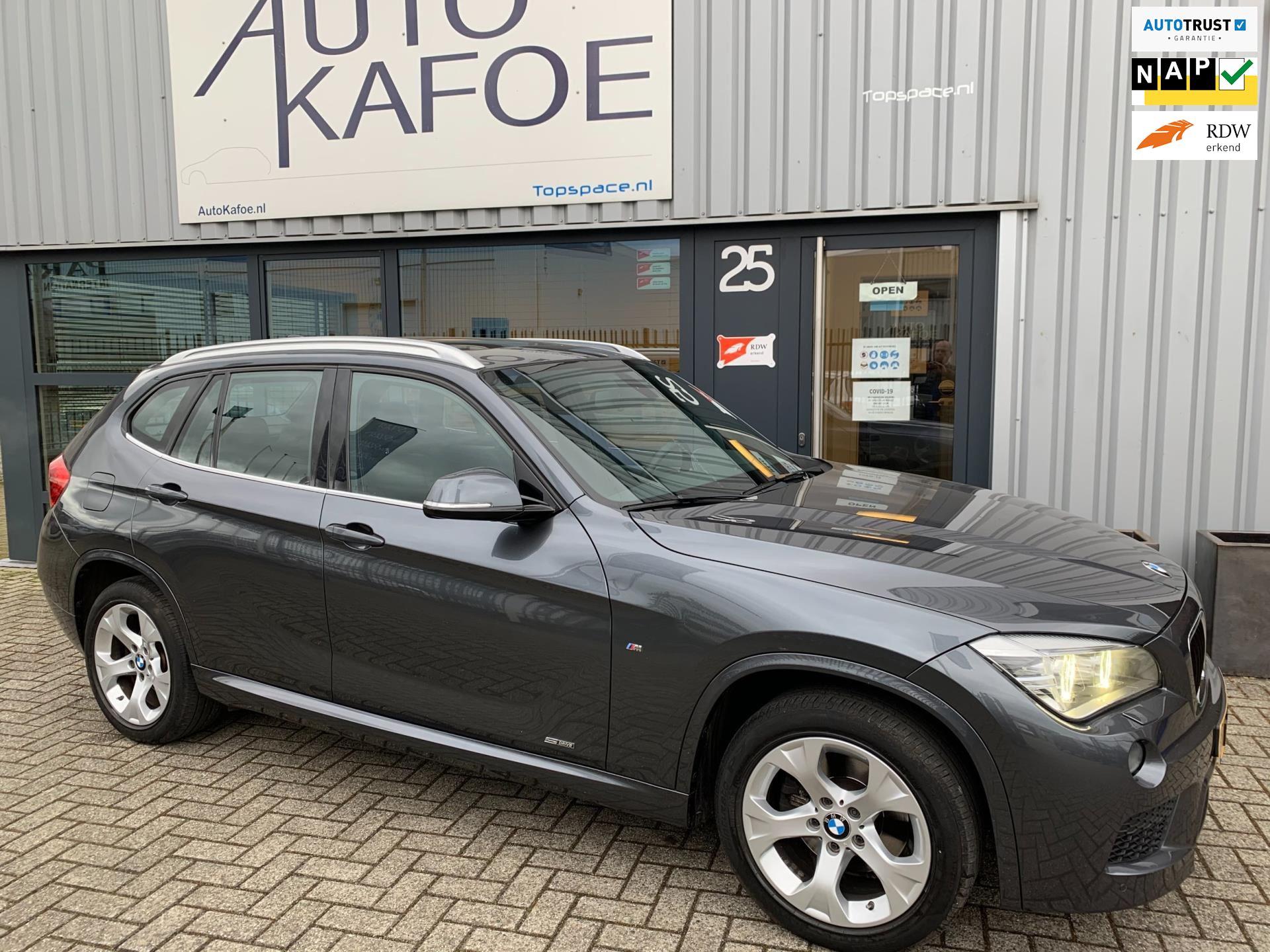 BMW X1 SDrive 20i High Exe M-Sport Pano dak ECC NAVI Xenon occasion - AutoKafoe v.o.f.