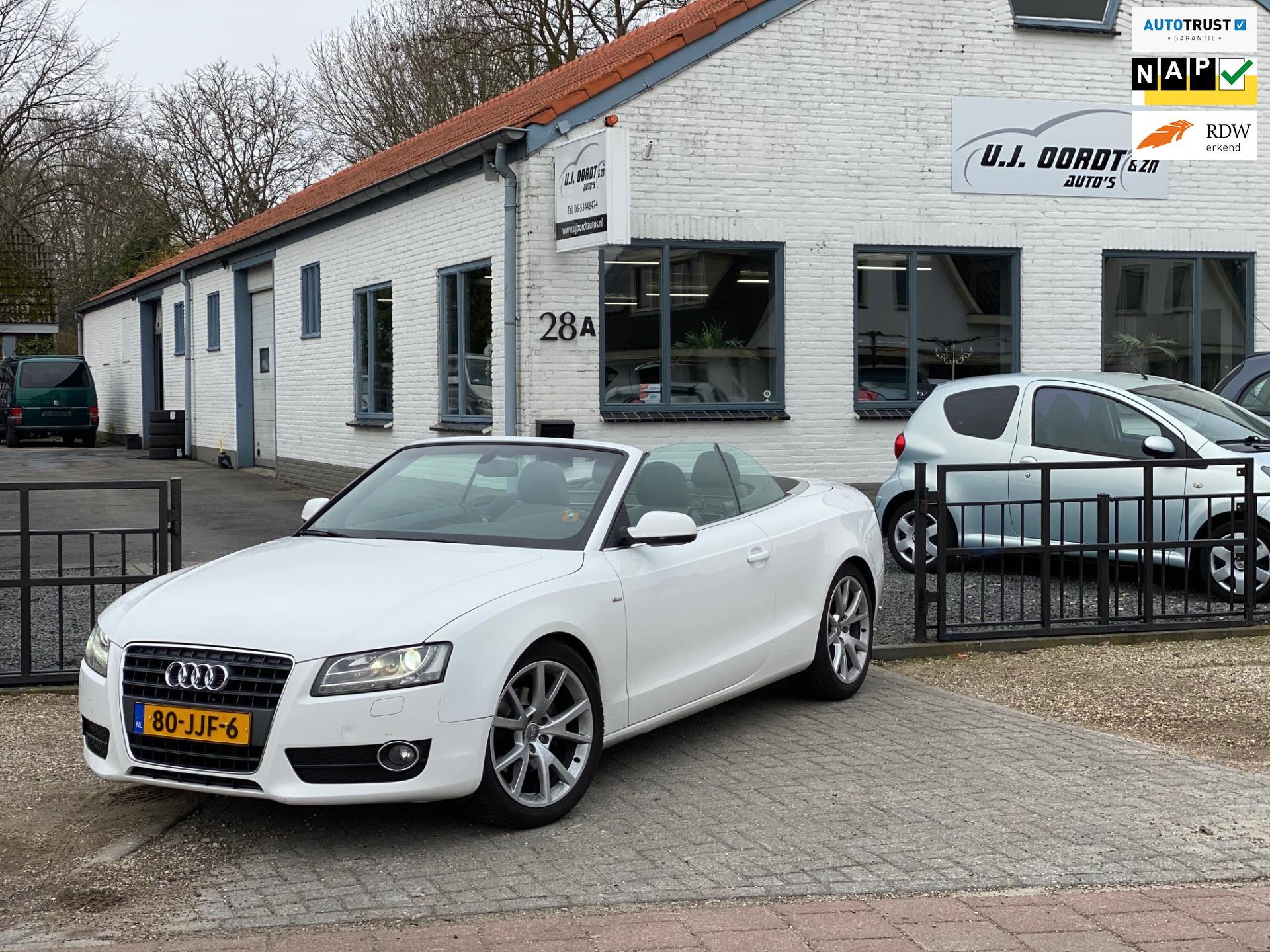 Audi A5 Cabriolet occasion - U.J. Oordt Auto's