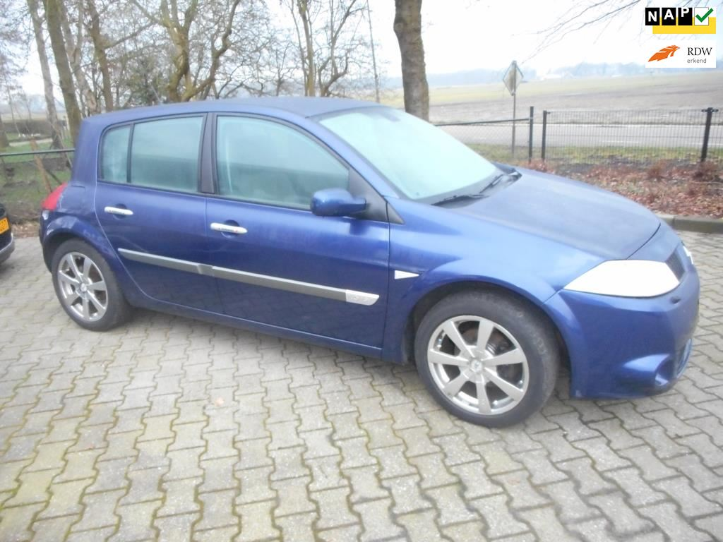 Renault Mégane occasion - De Jonge Auto's