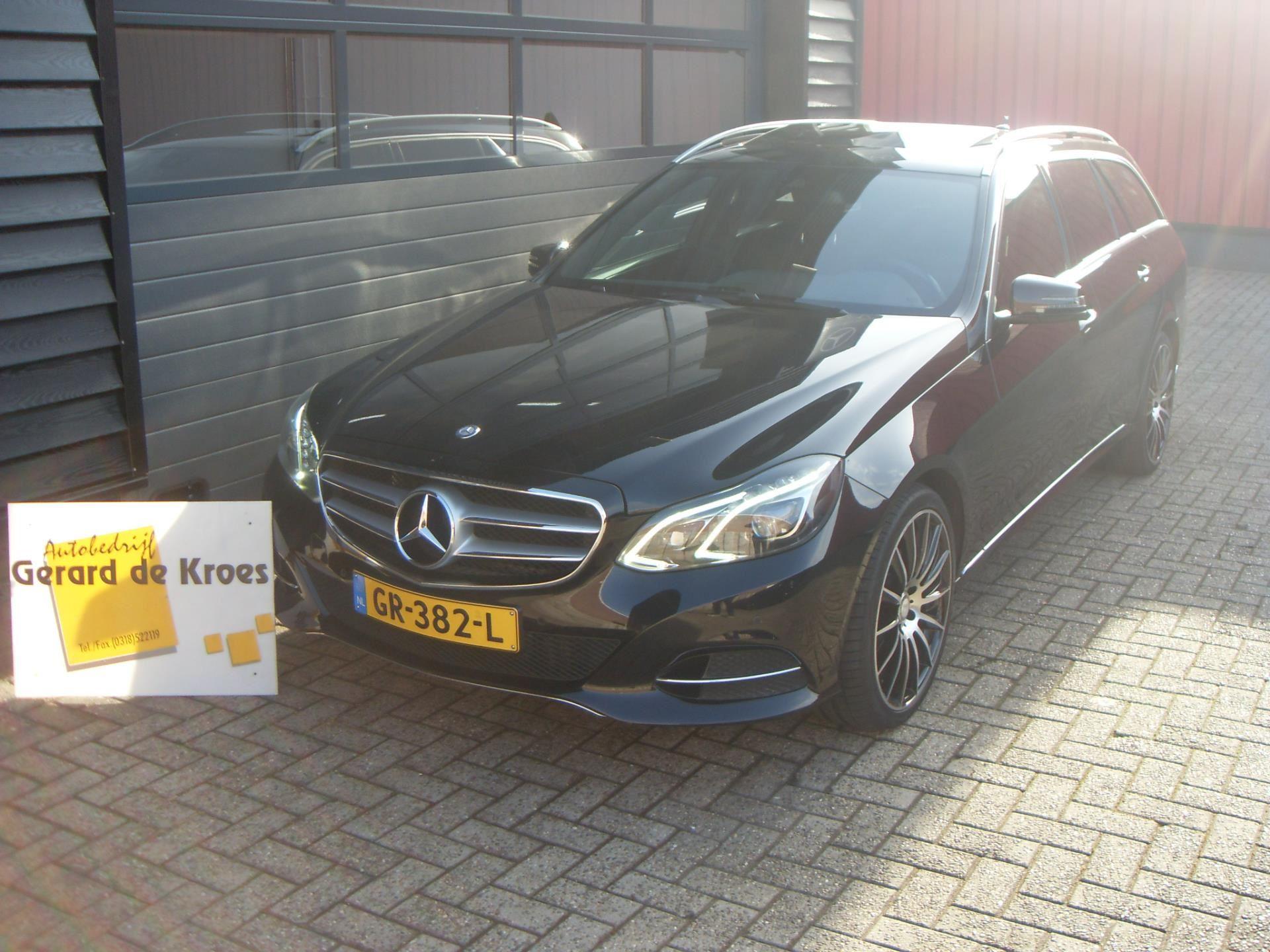 Mercedes-Benz E-klasse occasion - Autobedrijf Gerard de Kroes