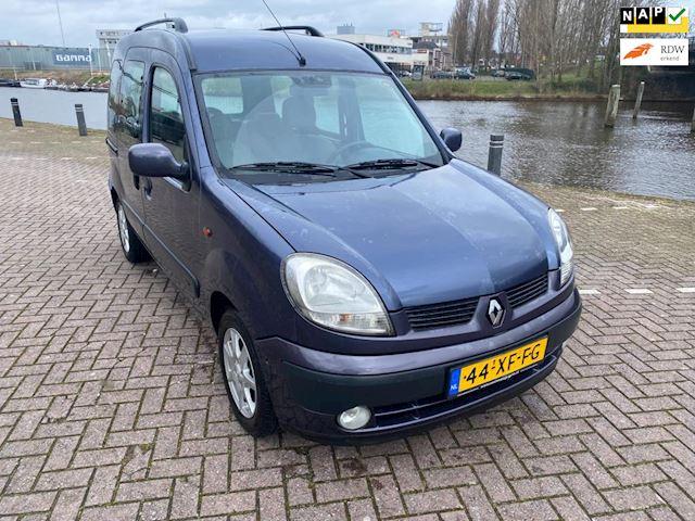 Renault Kangoo 1.6-16V Privilège  AUTOMAAT airco dubbele schuifdeur zeer mooie auto rijd als nieuw facelift type bj 2003