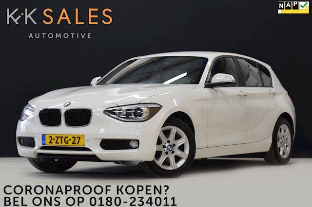 BMW 1-serie 116i High Executive AUT-8 [GROOT NAVI, PDC, START-STOP, STOELVERWARMING, CRUISE, CLIMATE, NIEUWSTAAT]