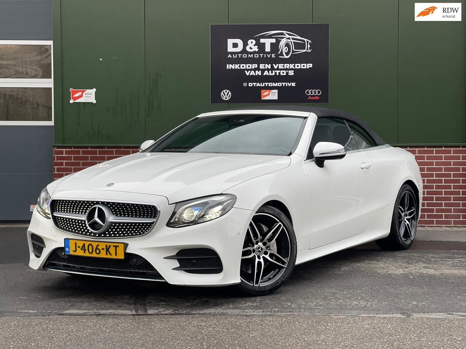 Mercedes-Benz E-klasse Cabrio occasion - D & T Automotive B.V.
