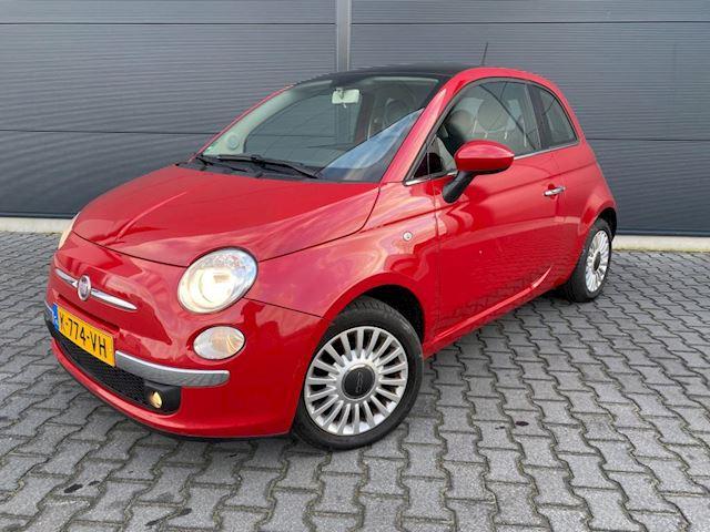 Fiat 500 1.2 Sport met panoramadak bouwjaar 2012 (vele extra's)