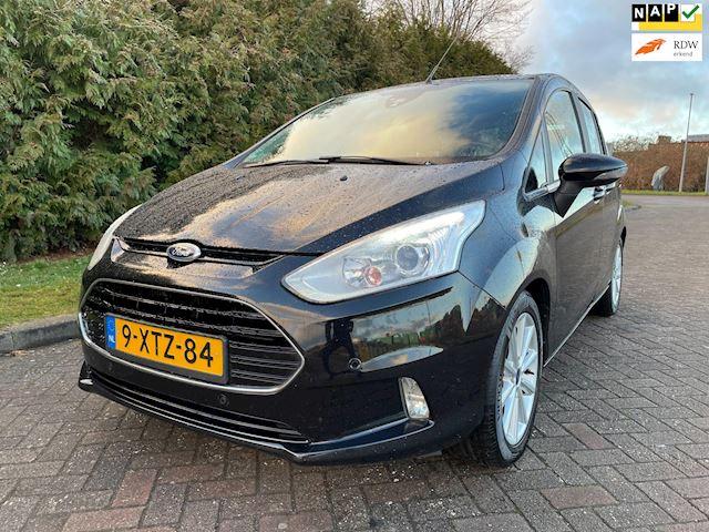 Ford B-Max 1.0 EcoBoost Titanium,Bj 2014,Navi,Achteruitrijcamera,2e Eigenaar,Dealer Onderhouden,PDC voor en achter,LMV,Nieuwe Apk