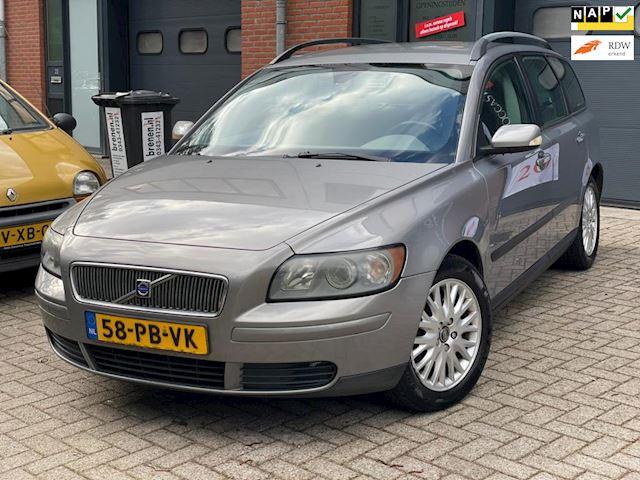 Volvo V50 2.0D Elan/ELEK.PAKKET/NAP/AIRCO/ONDERHOUDEN