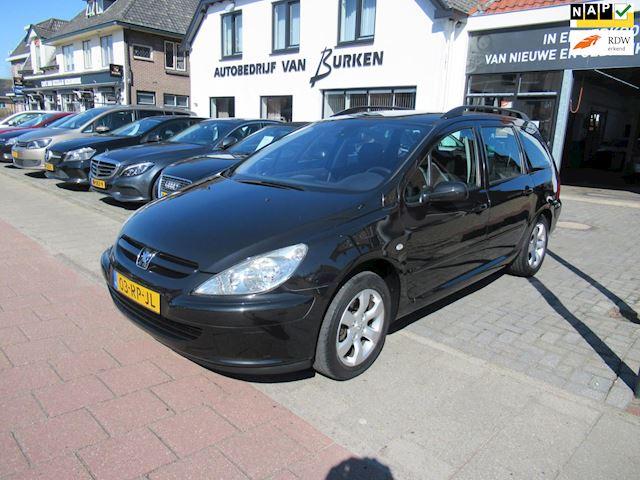 Peugeot 307 Break 1.6-16V XS Premium, Climate control,Cruise control,Trekhaak,L.M.Velgen