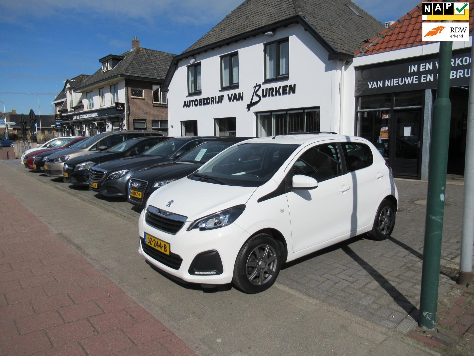 Peugeot 108 occasion - Autobedrijf van Burken