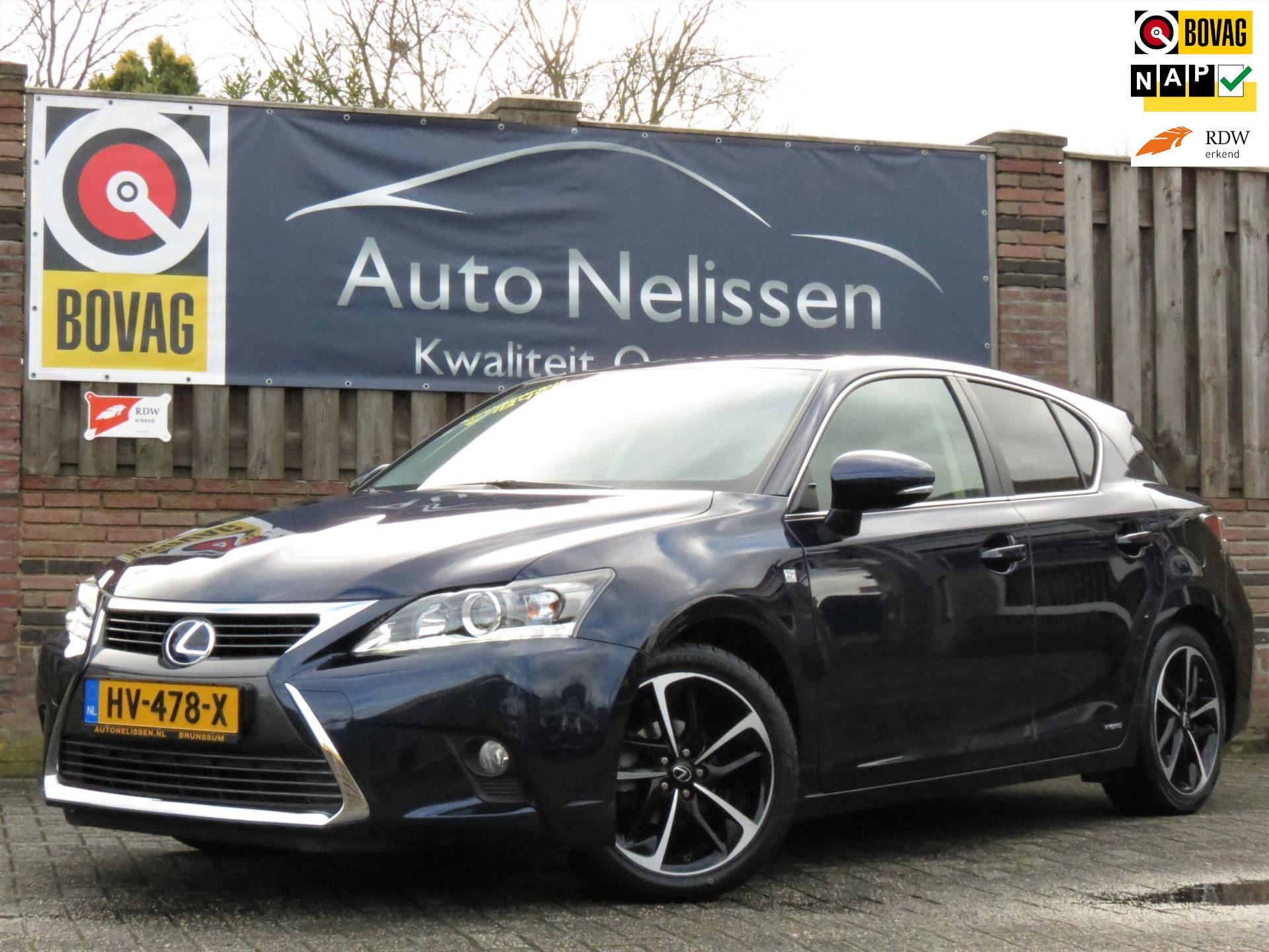 Lexus CT occasion - Auto Nelissen