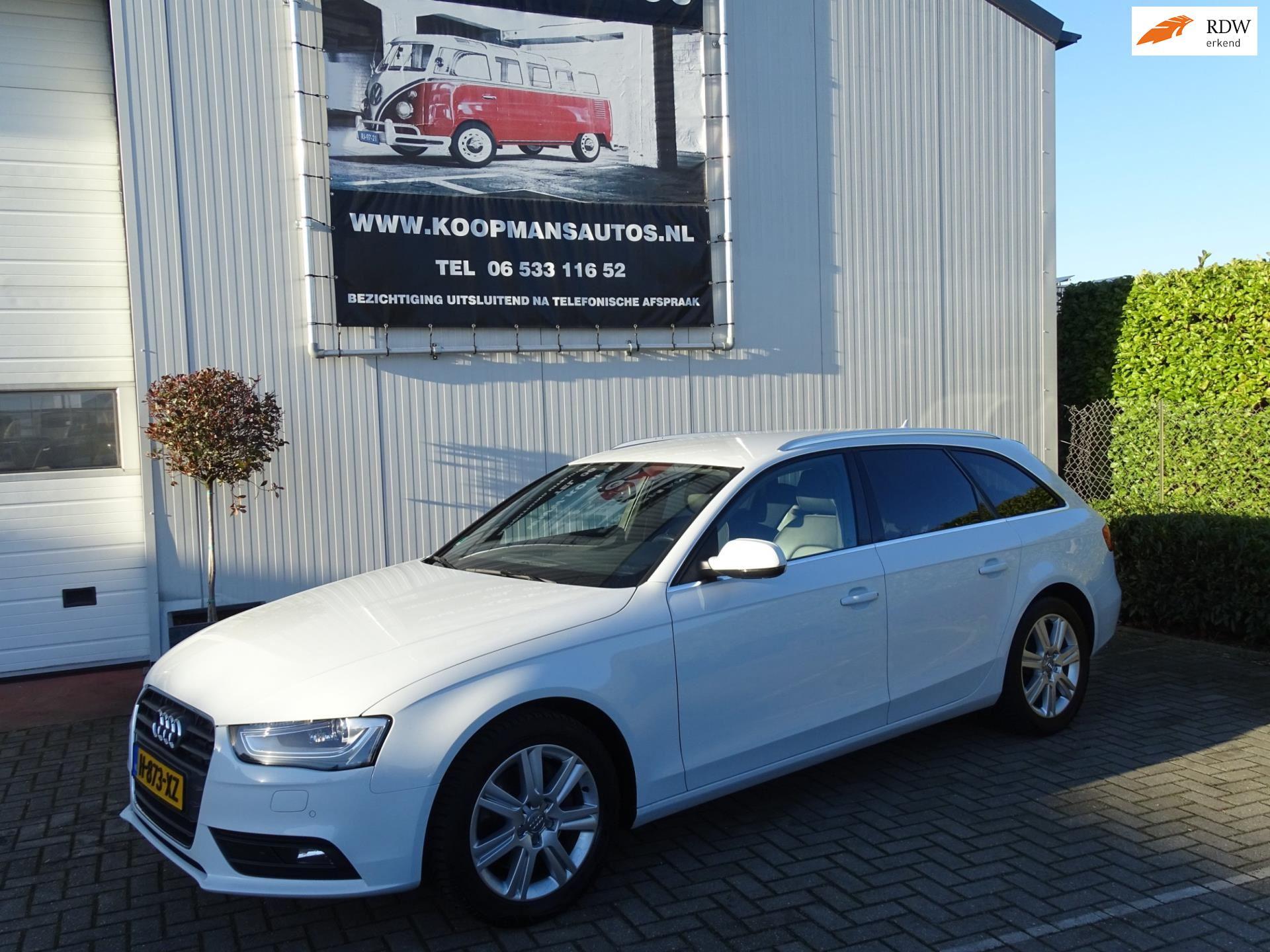 Audi A4 Avant occasion - Koopmans Auto's