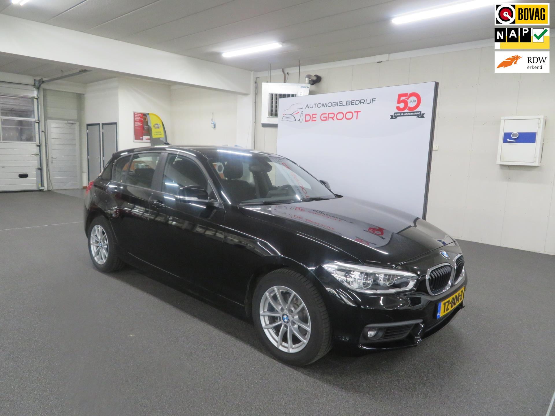 BMW 1-serie occasion - Automobielbedrijf de Groot