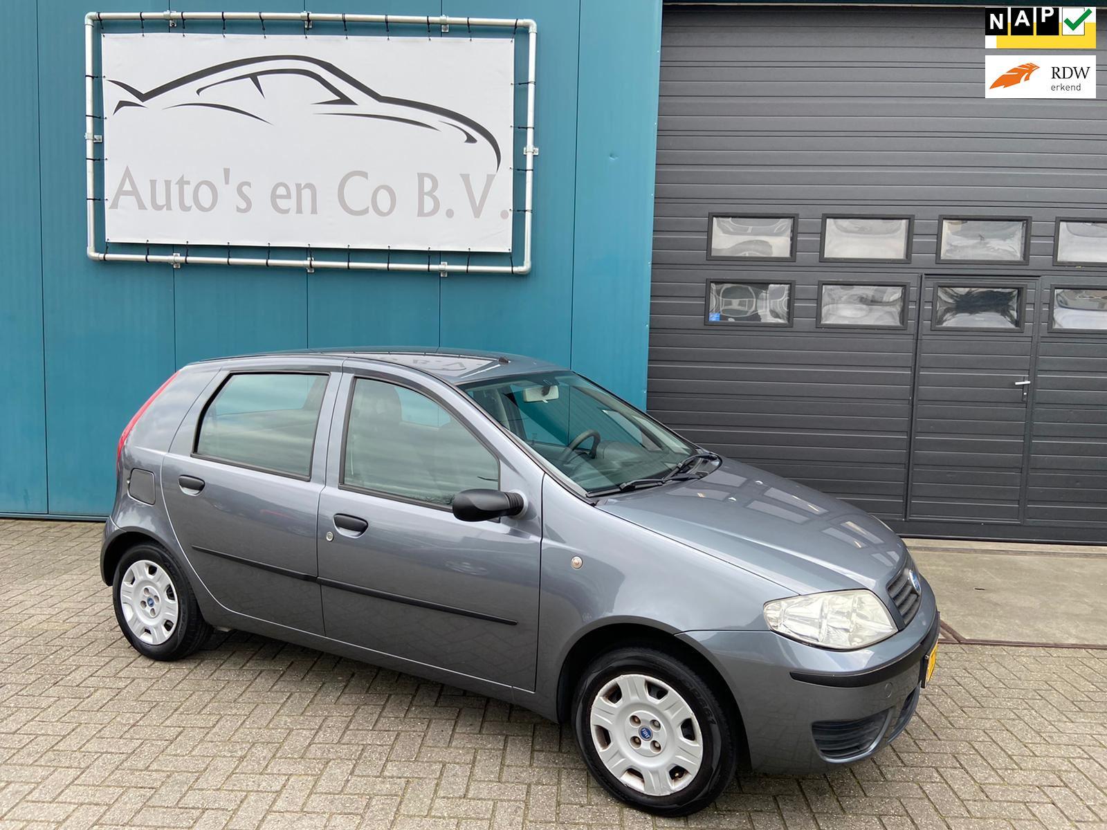 Fiat Punto occasion - Auto's en Co B.V.